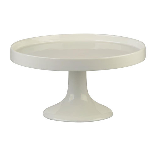 White Ceramic Cake Stand - White, Sky or Rose