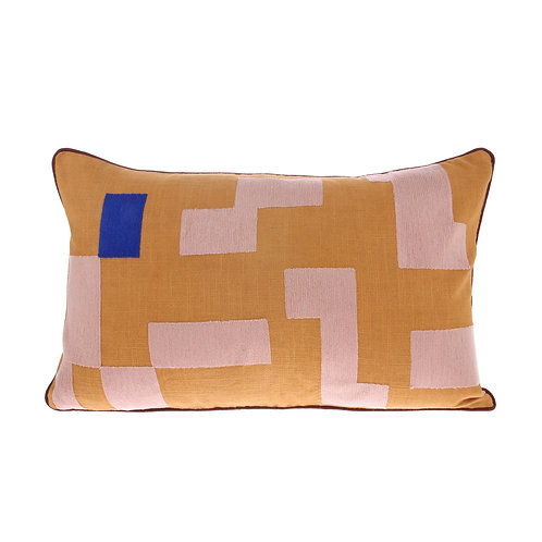 Tetris Stitch Contrast Cushion