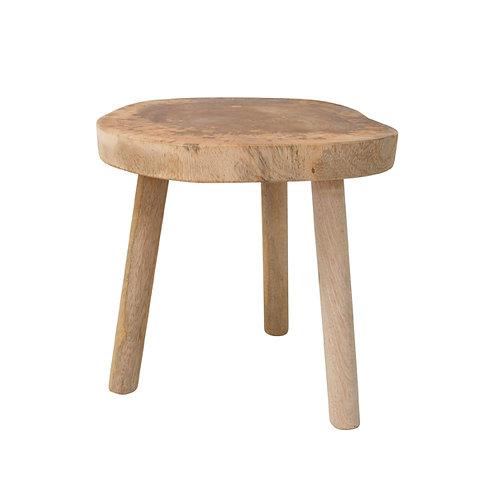 Natural tree stool, table small