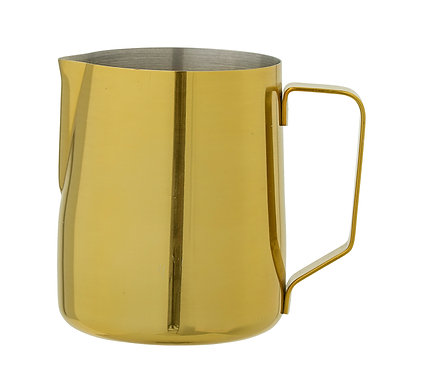 Metal Milk Jug - Gold - Stainless Steel