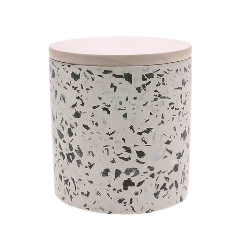 White Terraza Jar Candle