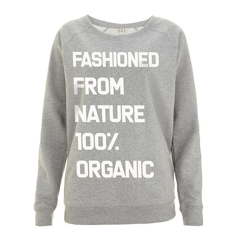 100% Organic Sweatshirt