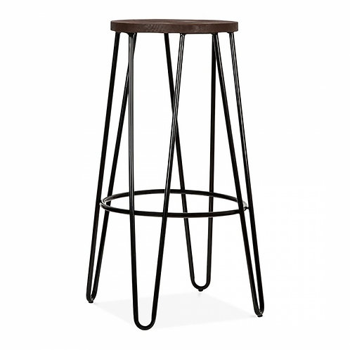 Black Hairpin Industrial Stool - Bar Stool - Colours +