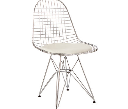 Chair Metal Eames Style Dkr Wire Mesh