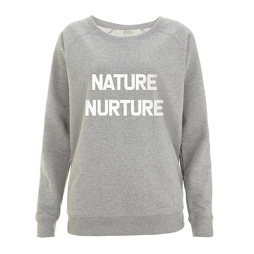 Womens - Nature-Nurture - 100% Organic Sweatshirt
