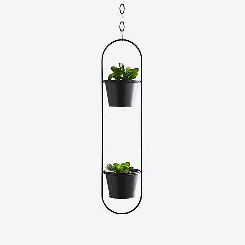 Modern Hanging Plant Duo