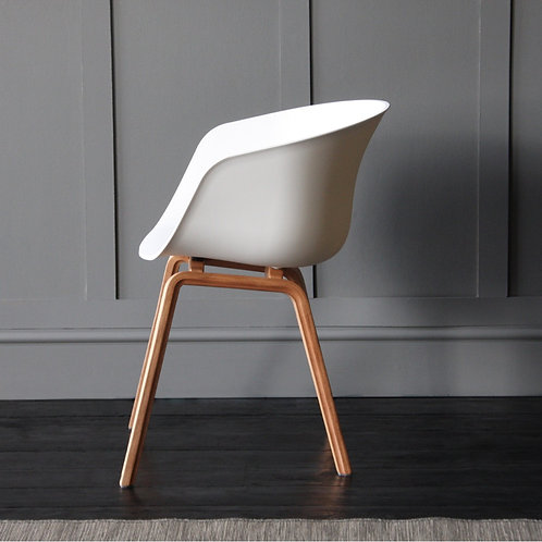 White & Natural - Danish-Style-Dining-Arm-Chair-Colours+