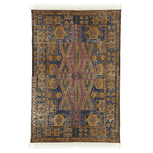 Cotton Jute Stonewashed Rug 120 x 180