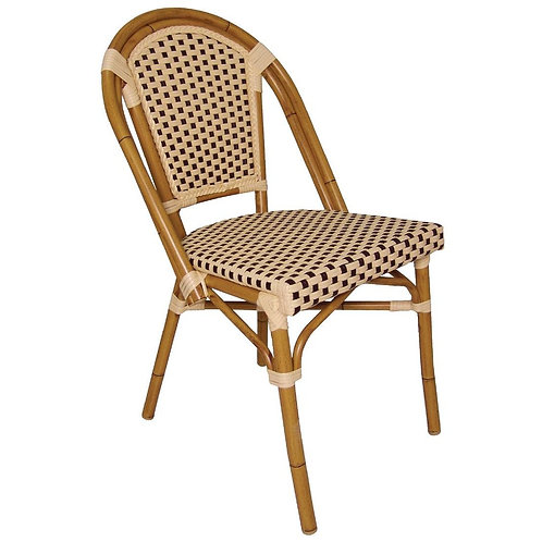 Set 4 - Riviera Rattan Dining Chairs