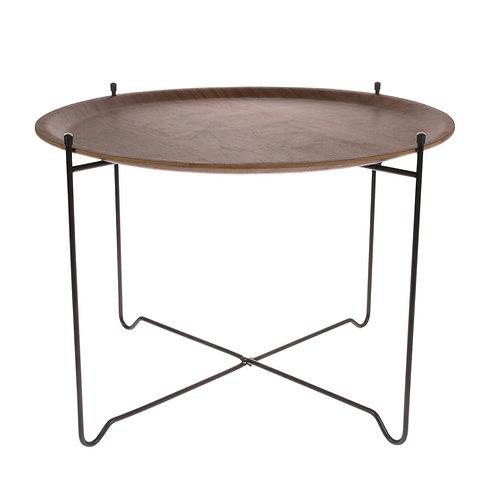 Avril Tray Table - Walnut Modern Tray Table
