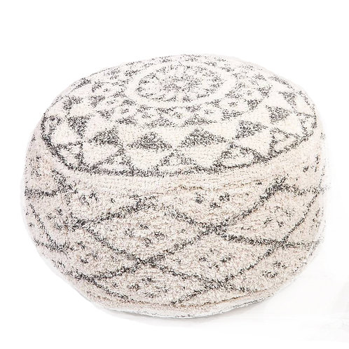 Moroccan Berber Style Footstool - Pouffe