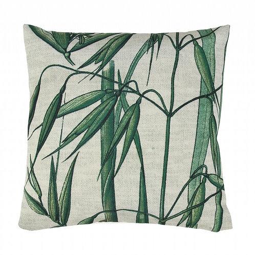 Botanical Print Cushions - Bamboo Palm print Cushion,
