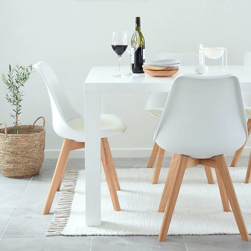 Set 4, Inspirational White Dining Chairs