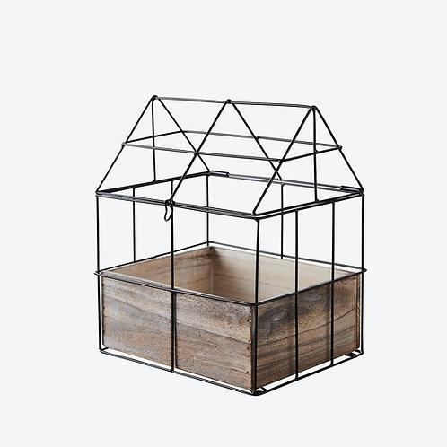 Mini Greenhouse Herb planter -
