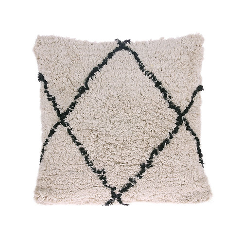 Cotton diamond cushion (50x50)