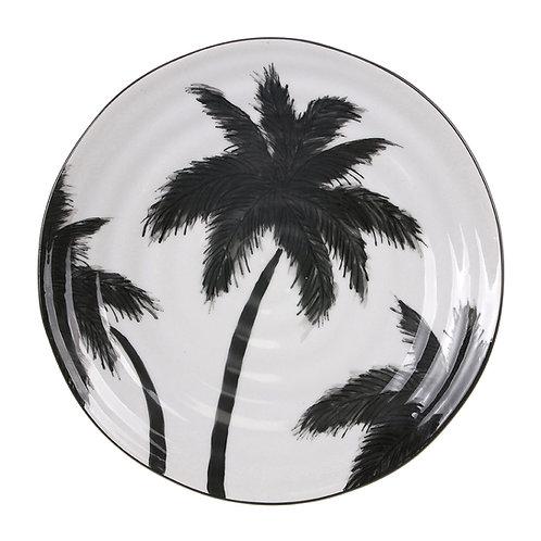 Palm Tree Ceramic Plate