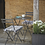 Thumbnail: Bistro Patio Set - 2 Chairs, Circular Table - Colours+6