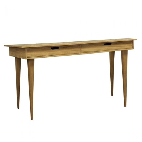 Athena modern home office oak desk