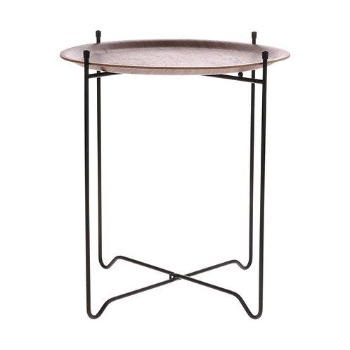 Ava Tray Table - Walnut Modern Tray Table