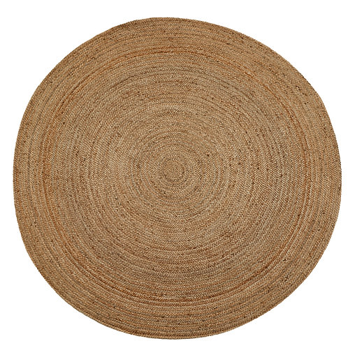 Natural Jute Circular Rug - Natural