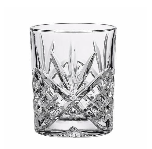 Set Two Cut Glass Tumblers