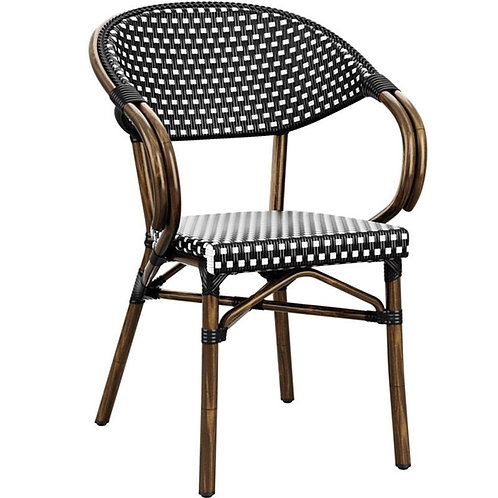 Riviera Bamboo Cane Dining Chair