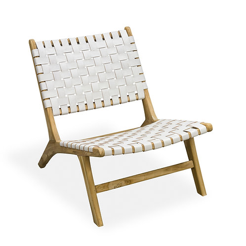 White Desert Lattice Veranda Chair