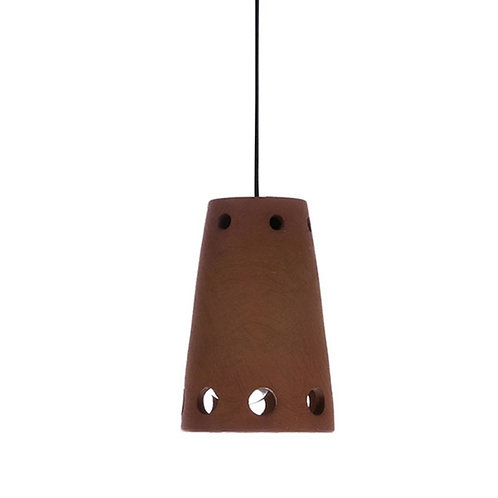 Terracotta Cone Pendant Lamp