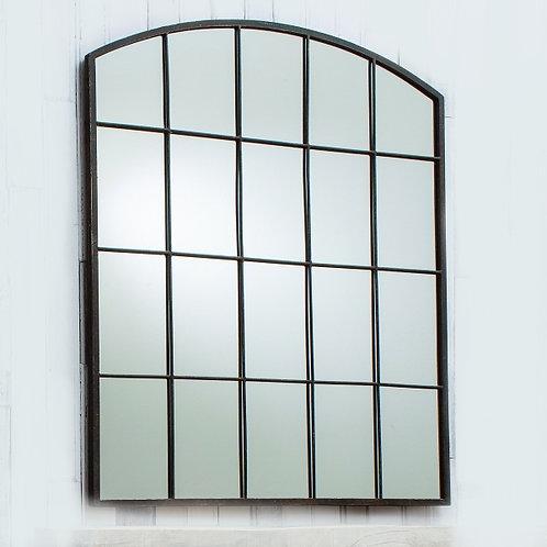Brighton Metal Window Style Mirror