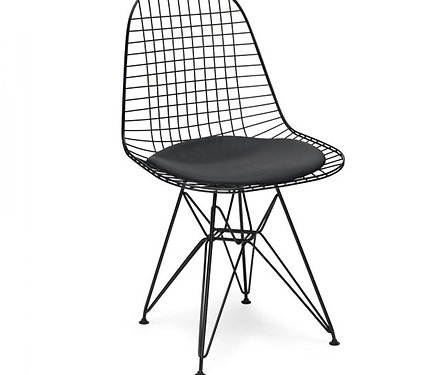 Attractive Chair Metal Eames Style Dkr Wire Mesh Chair