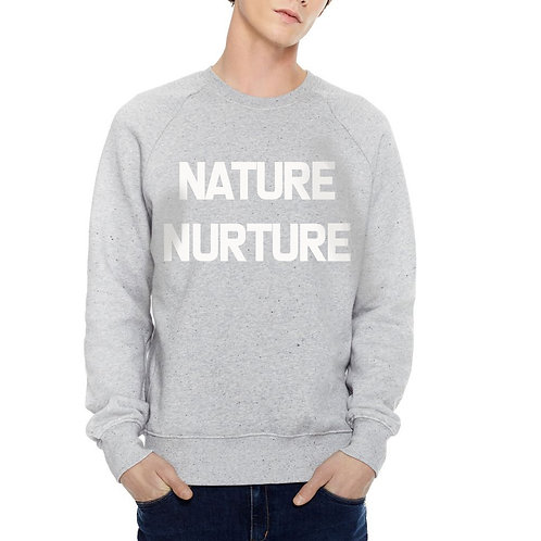 Mens - Nature-Nurture - 100% Organic Sweatshirt
