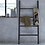 Thumbnail: Black Bamboo Linen Ladder Wide Rack