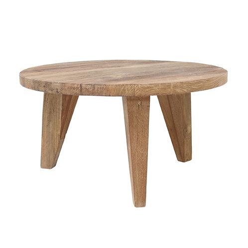 Nikki Round Wood Coffee Table - 65cm D