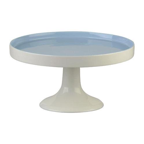 White/Blue Ceramic Cake Stand - White, Sky Blue or Rose