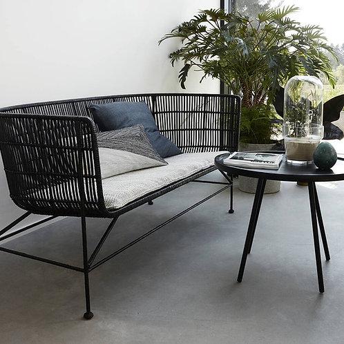 Bamboo Rattan Sofa - Black or Natural