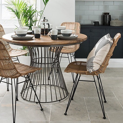 The Nest - Round Dining Table - Sustainable Mango wood