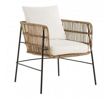 Kubu Bamboo Rattan Chair - Natural