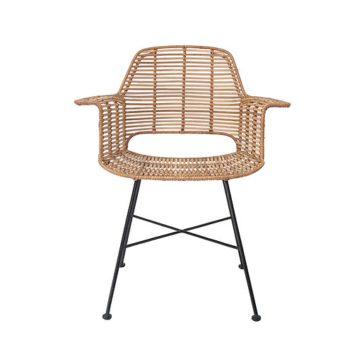 Rattan Dining Arm Chair