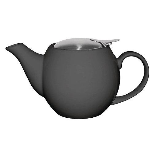 Hygge Grey Round Teapot