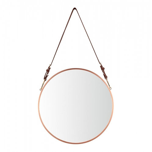 Round - Safari Style - Mirror - Copper or Silver