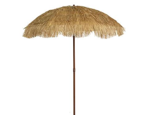 Straw Beach or Garden Parasol -Umbrella