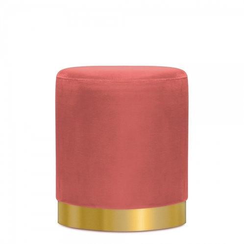 Rosewood Tulsi 42cm Stool - Gold base