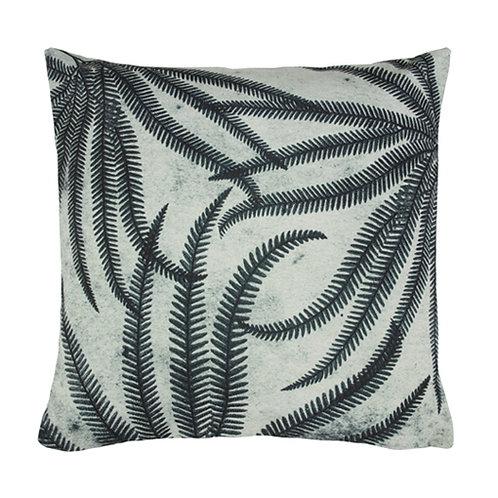 Fern Print Cushion, Botanical Print Cushion