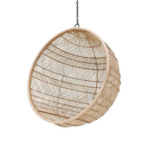 Bali Basket Rattan Hanging Ball Chair