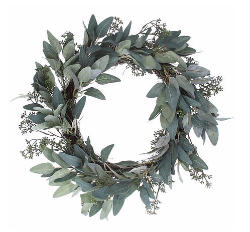 Leafy Eucalyptus & Berry Wreath