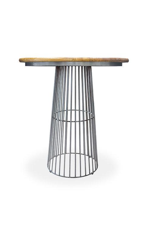 Clarissa Round Breakfast Bar Table - 1m H