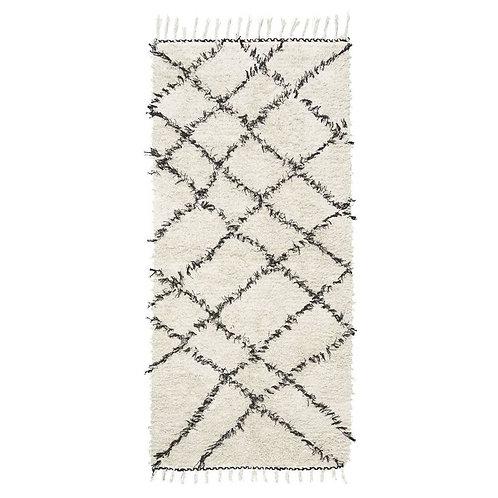 Berber Tufted Diamond Cotton Rug