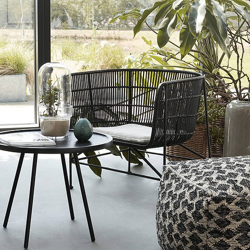 Bamboo Rattan Chair - Black or Natural