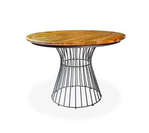 Nest Round Dining Table - Sustainable Mango wood