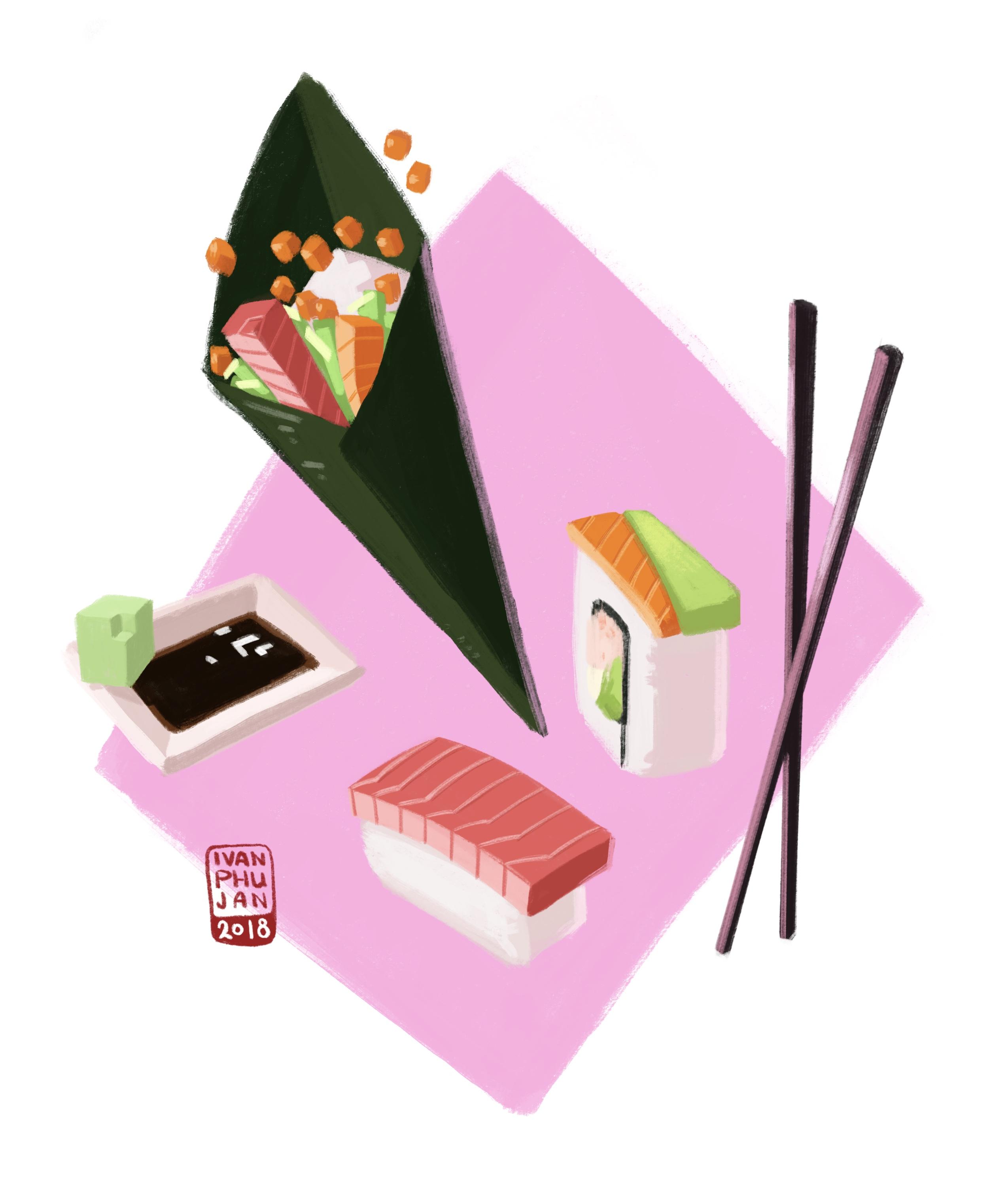 Geometric Sushi